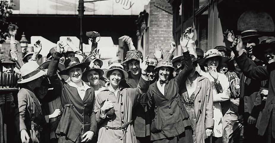 100th Anniversary of Business and Professional Women USA; July 16, 1919